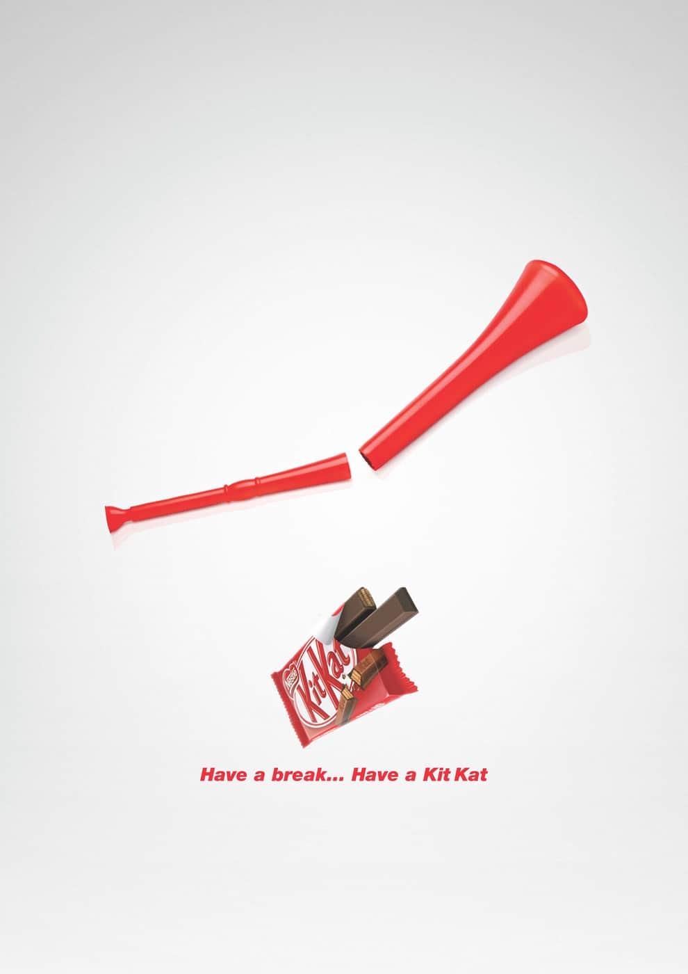 KitKat vuvuzela