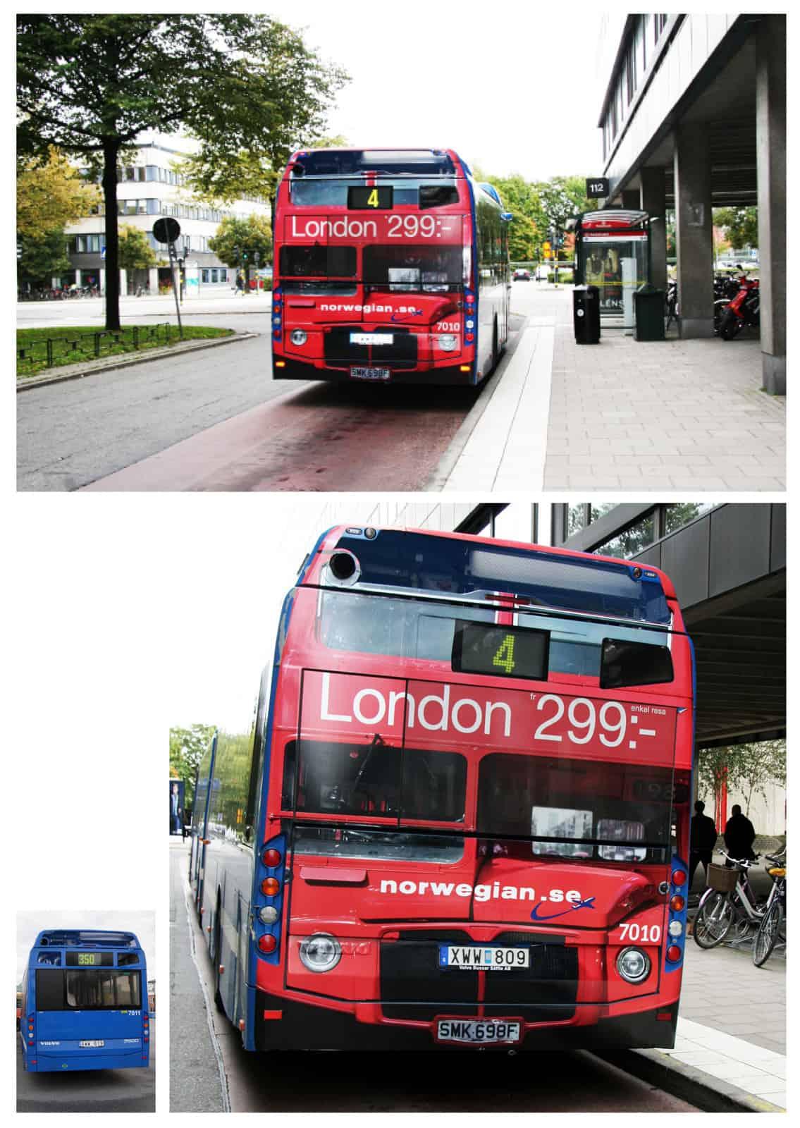 Norwegian : Bus londonien