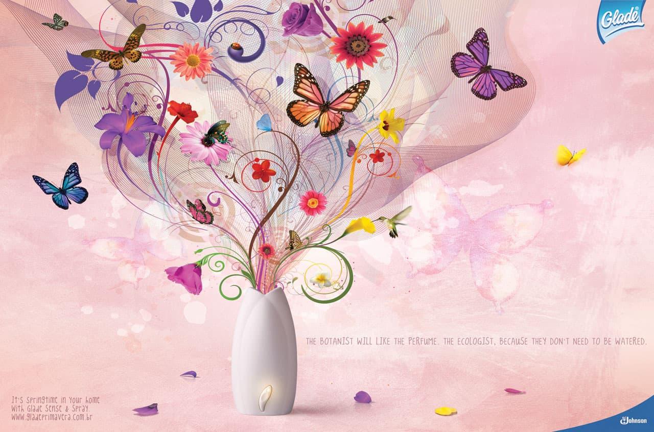 Glade fleurs 5