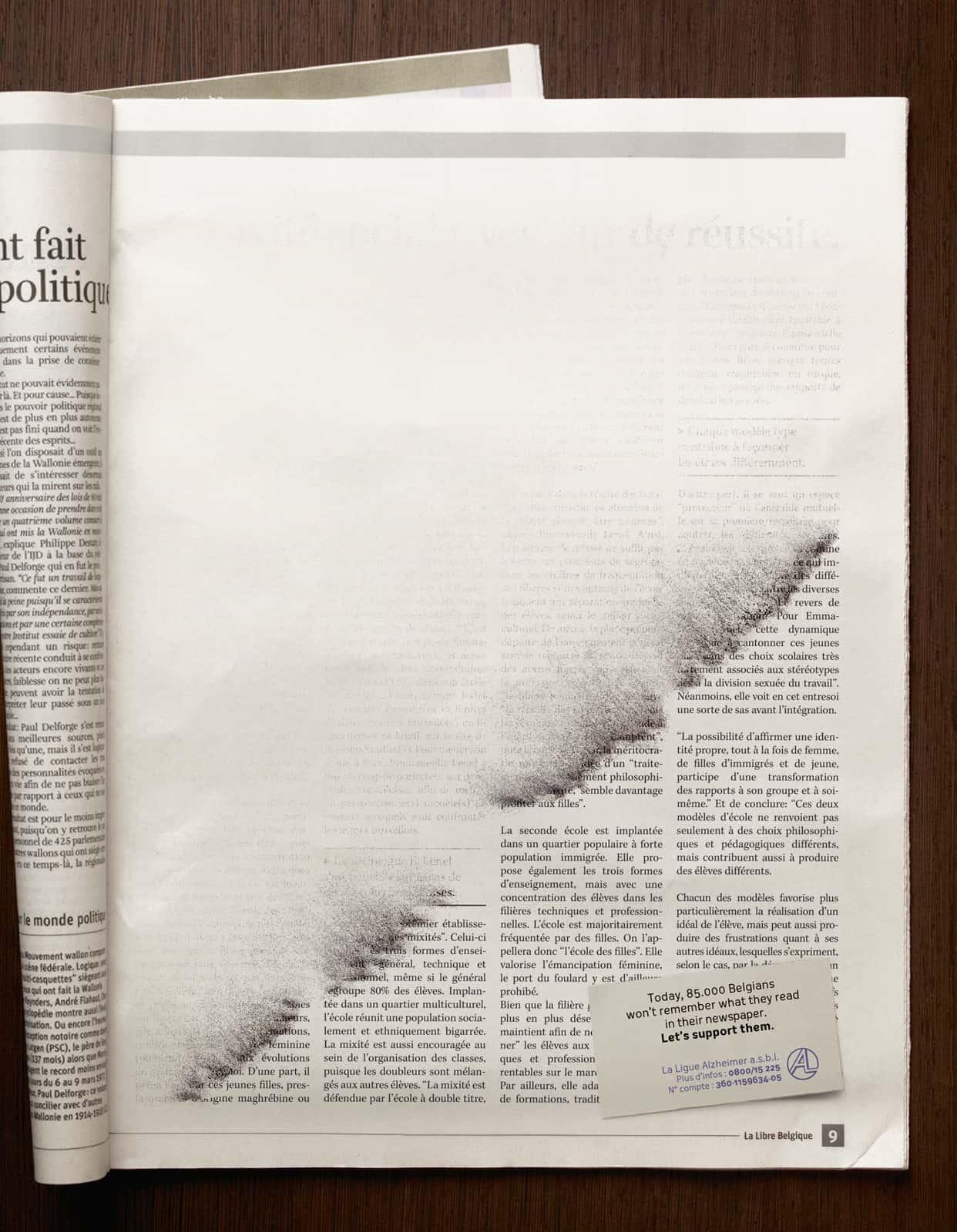 Ligue Alzheimer : Journal