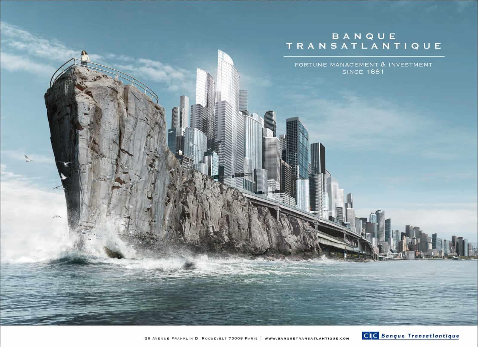 CIC : Banque Transatlantique ville