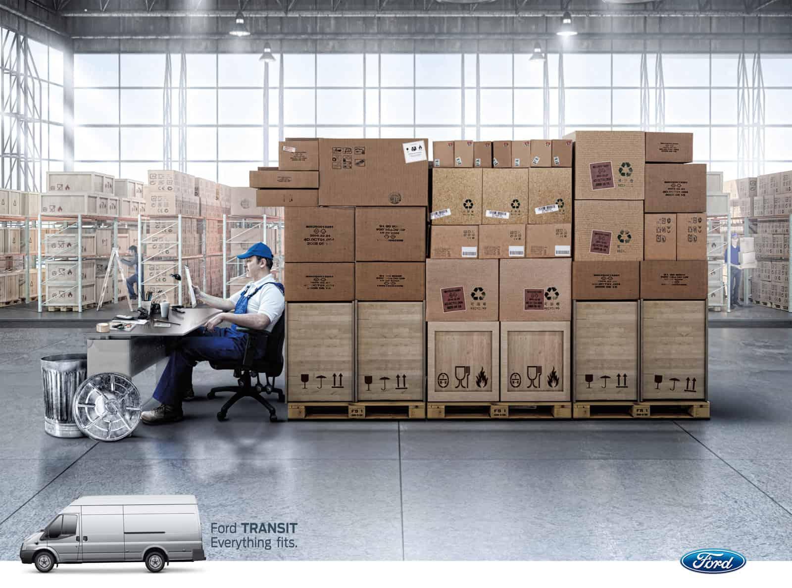 Ford Transit : tout passe