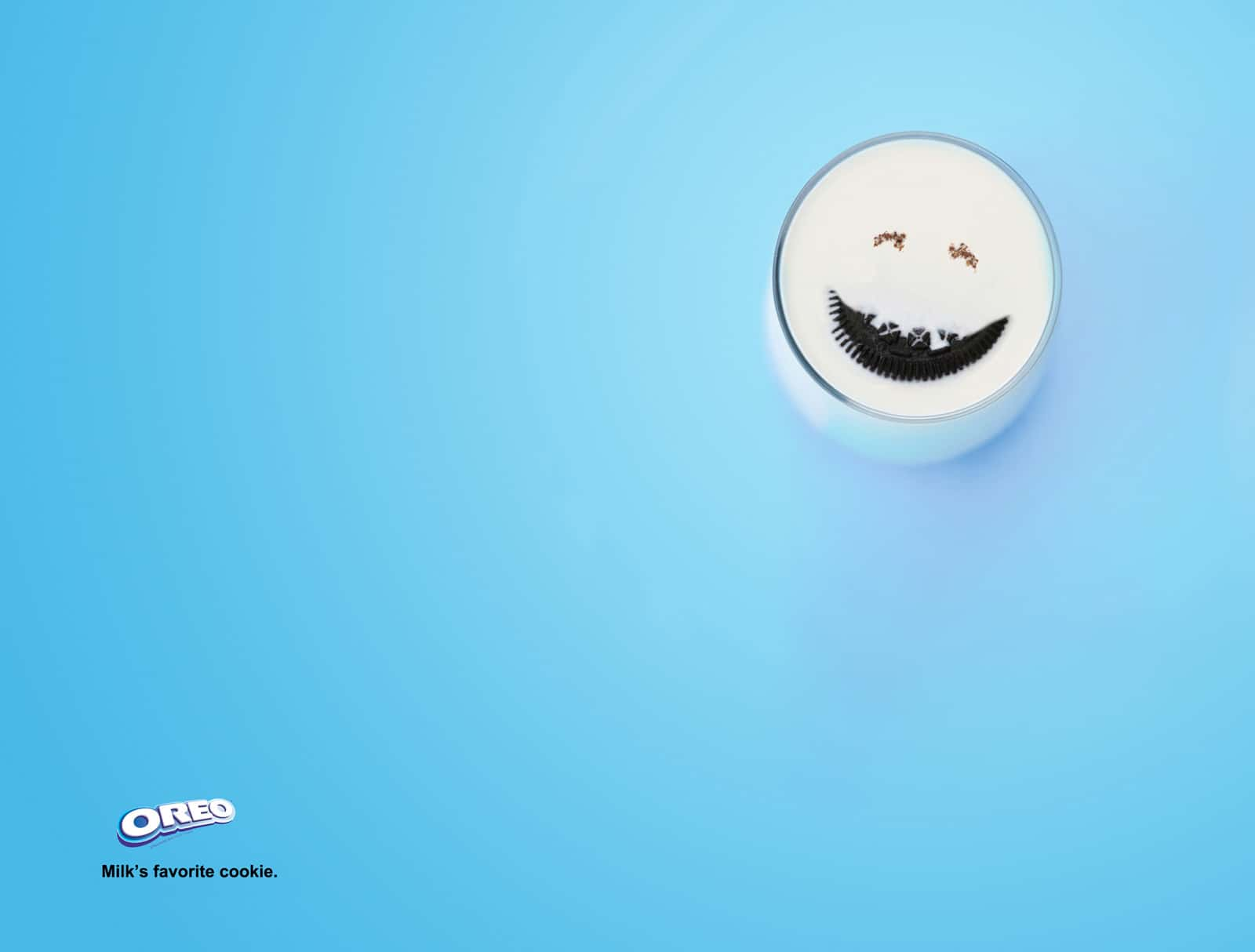 Oreo lait sourire
