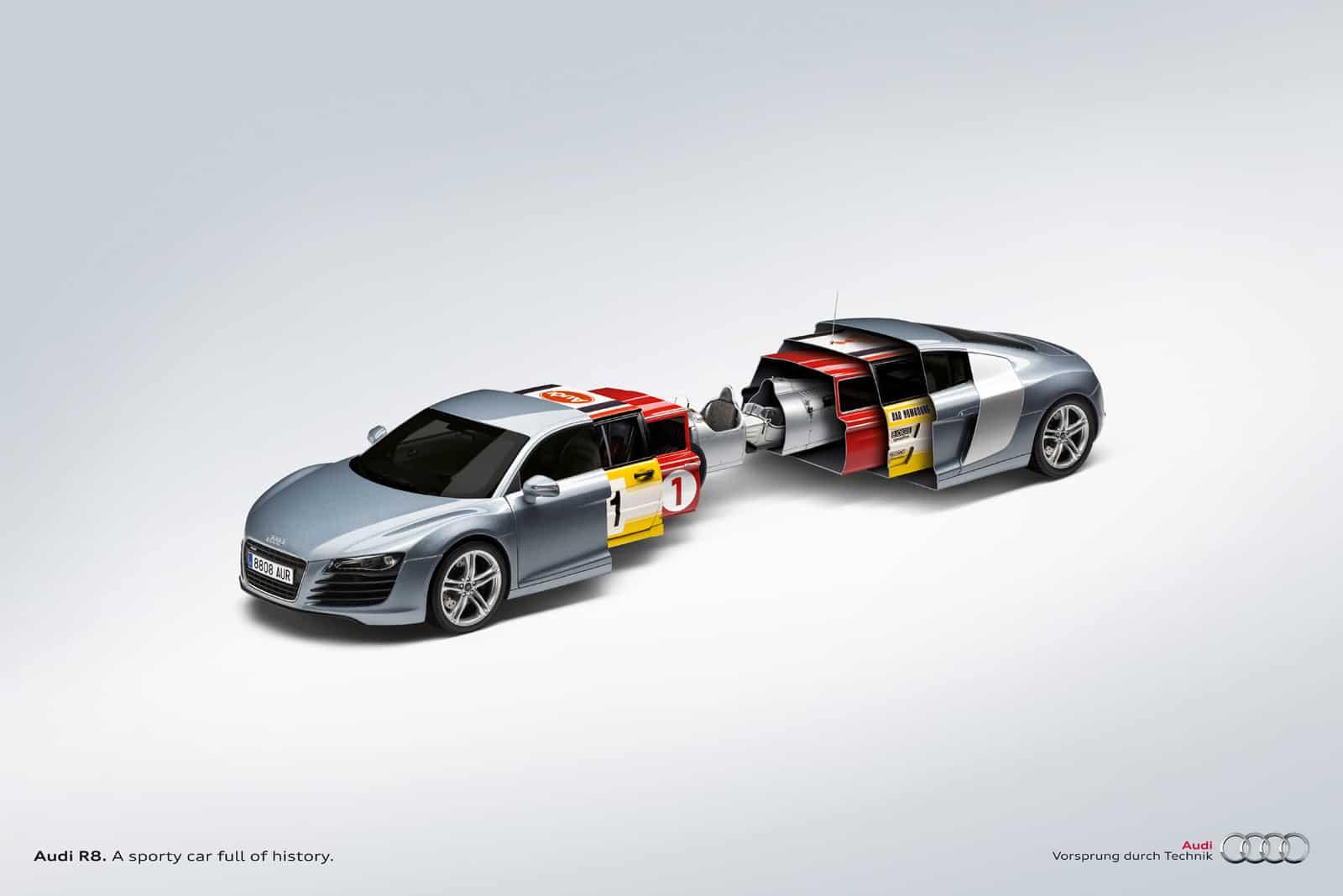 Audi R8 : Une voiture pleine d'histoire