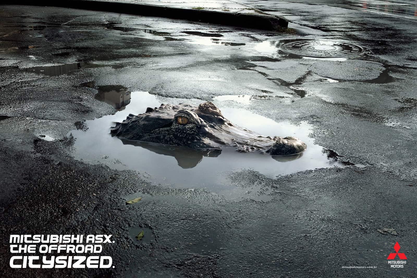Mitsubishi ASX Crocodile