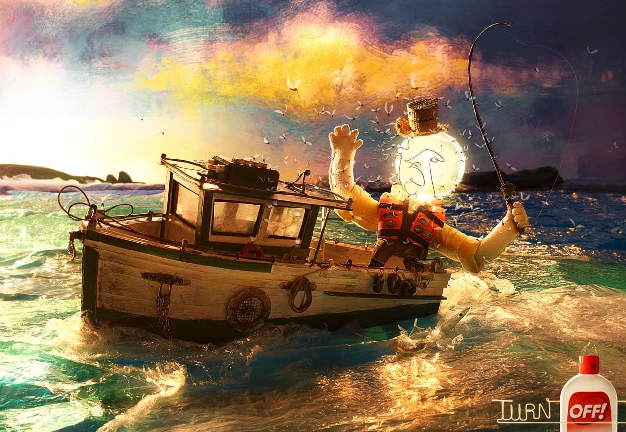 OFF ampoule bateau