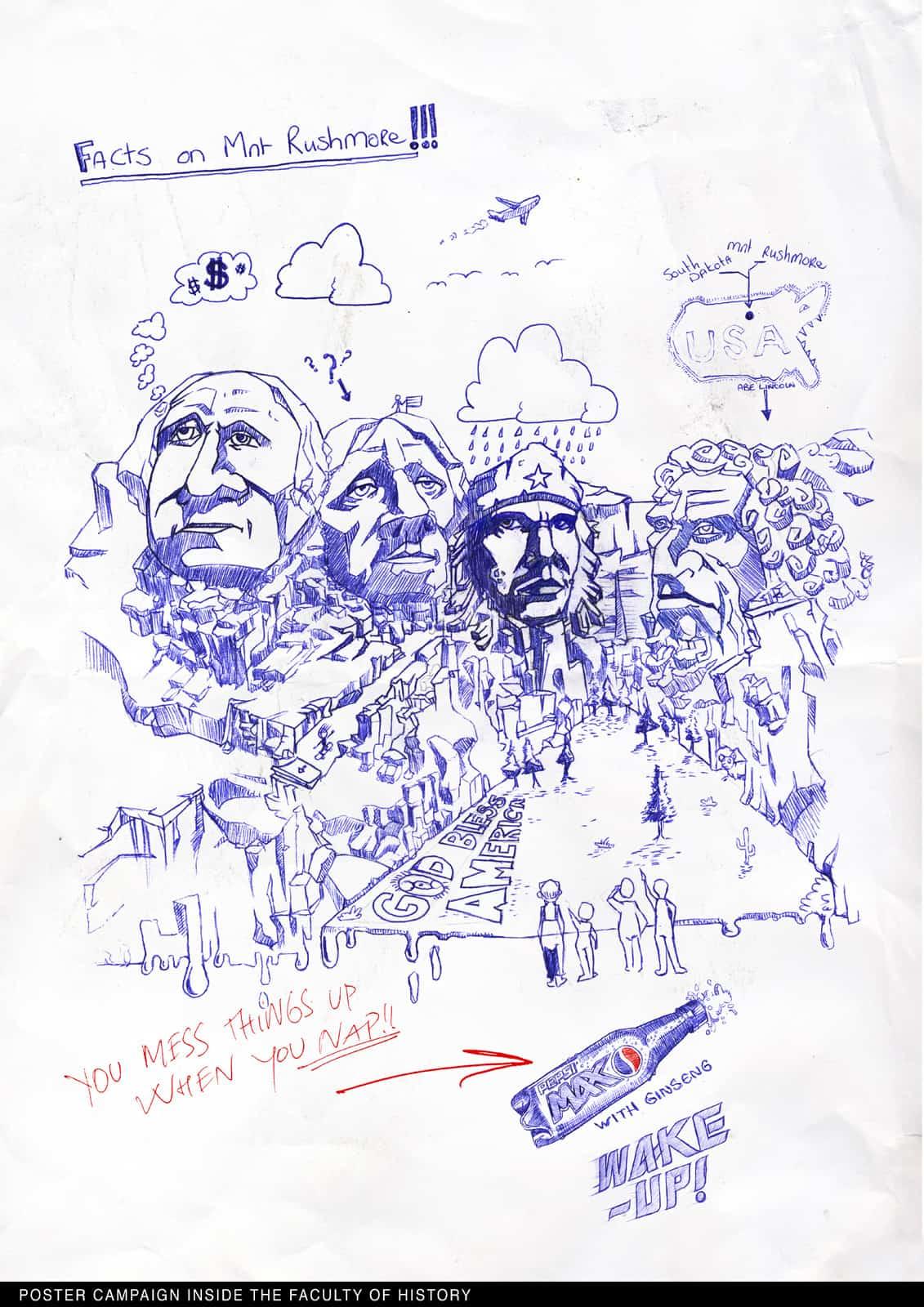 Pepsi Max : Mount Rushmore