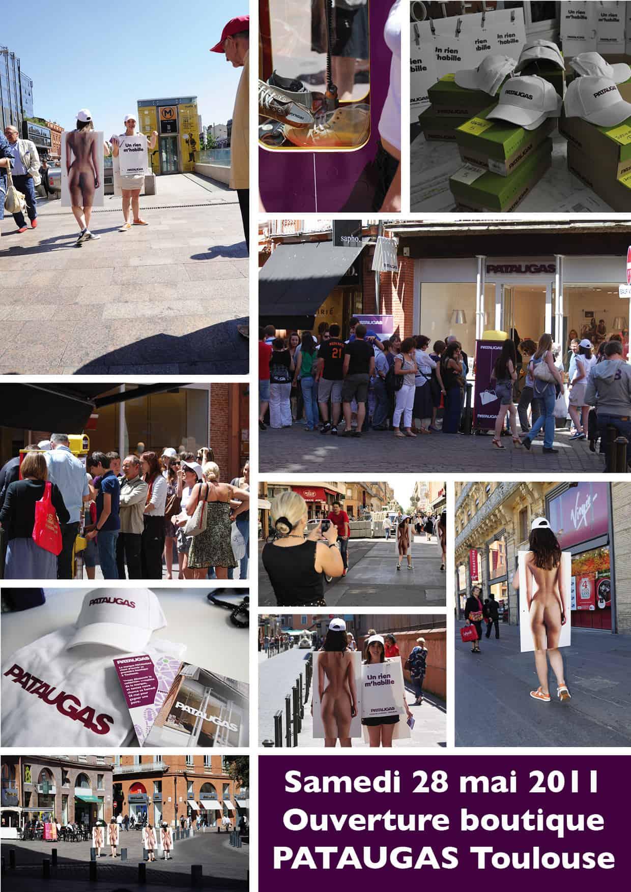 Opération Street marketing Pataugas
