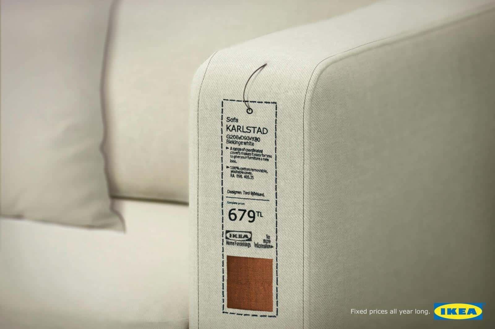 Pub Ikea : prix fixes