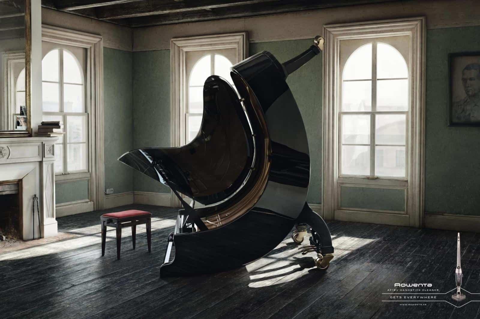Pub Rowenta Piano