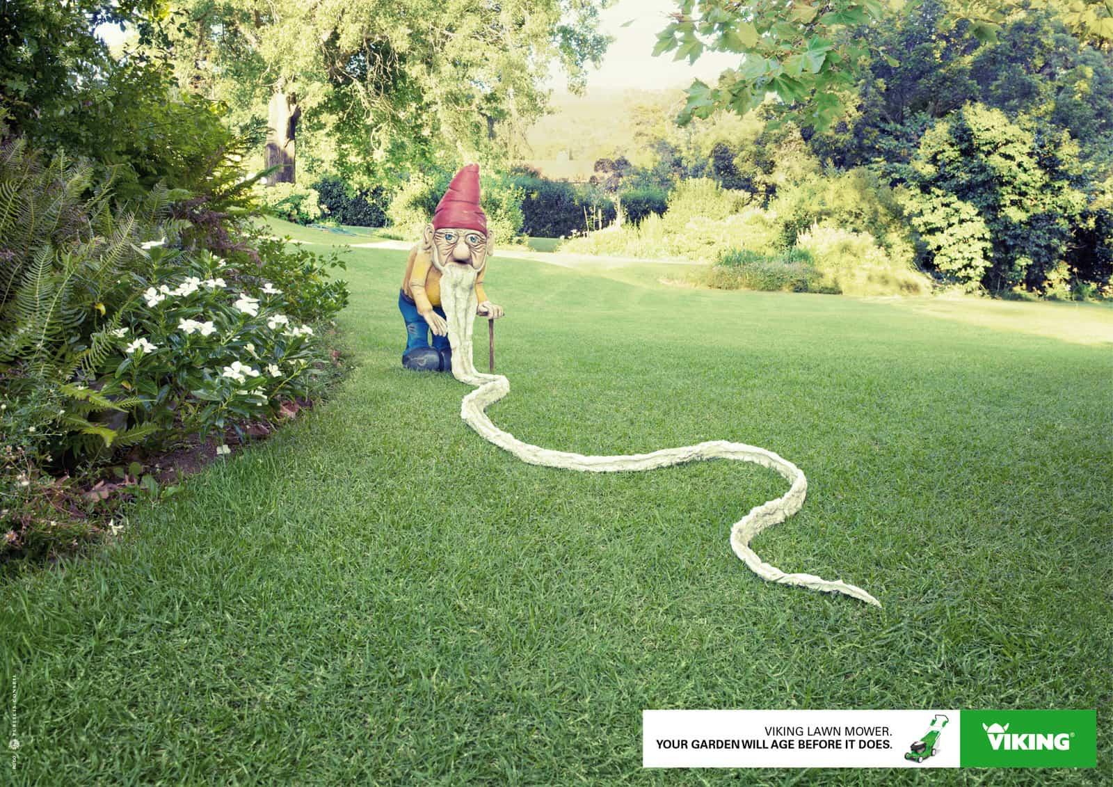Pub Viking : nain de jardin