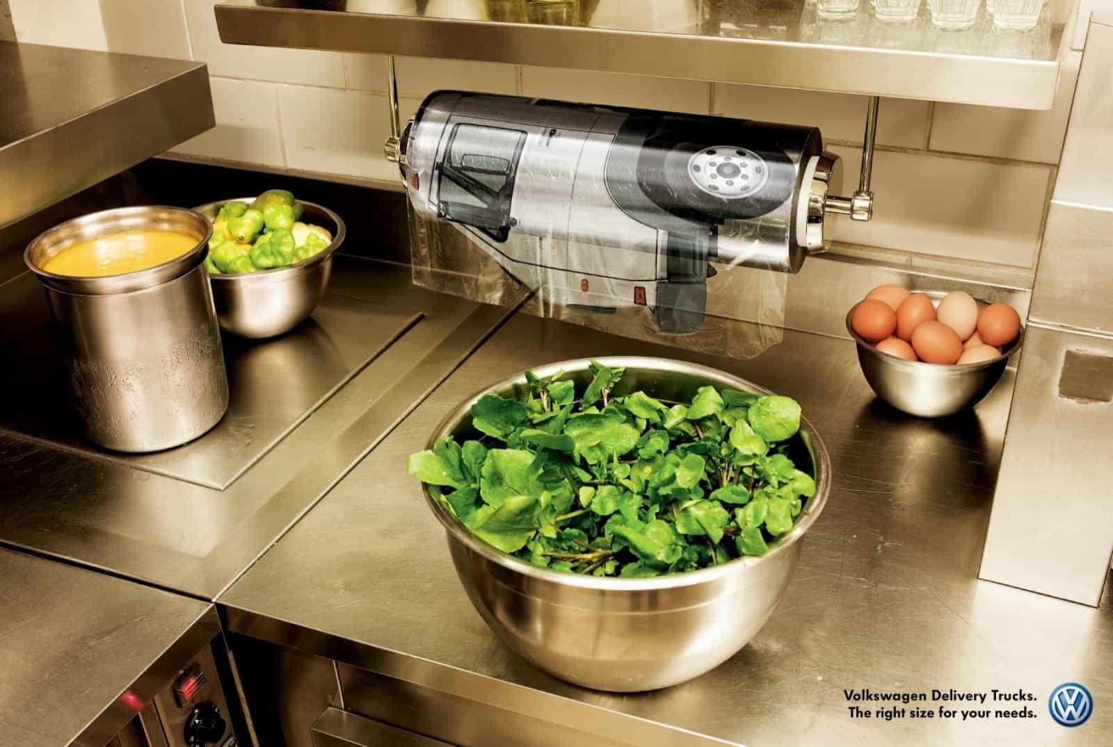 Pub Volkswagen Trucks : Salades