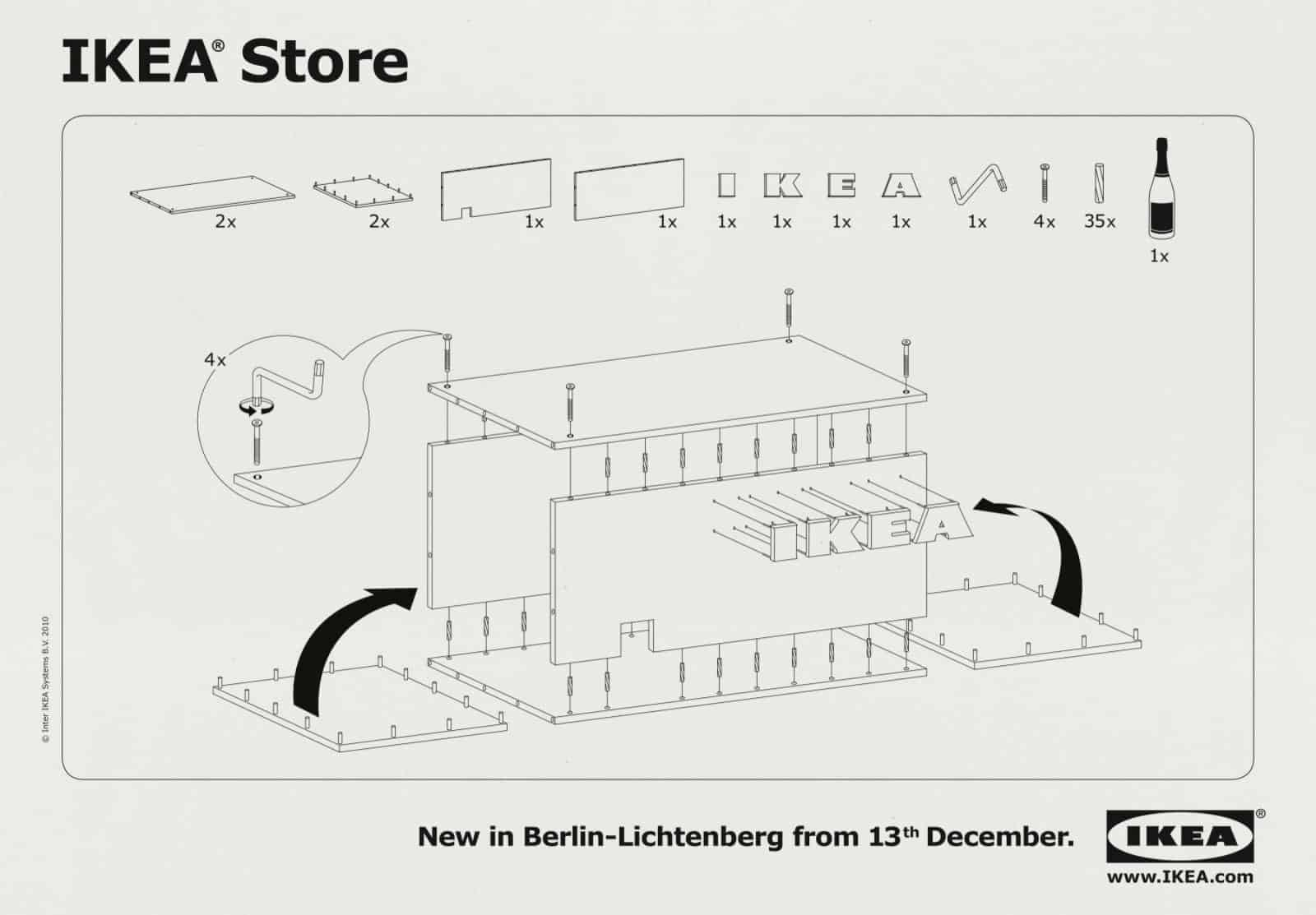 Pub Ikea : notice magasin