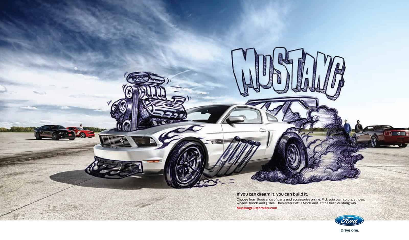 Pub Ford Mustang