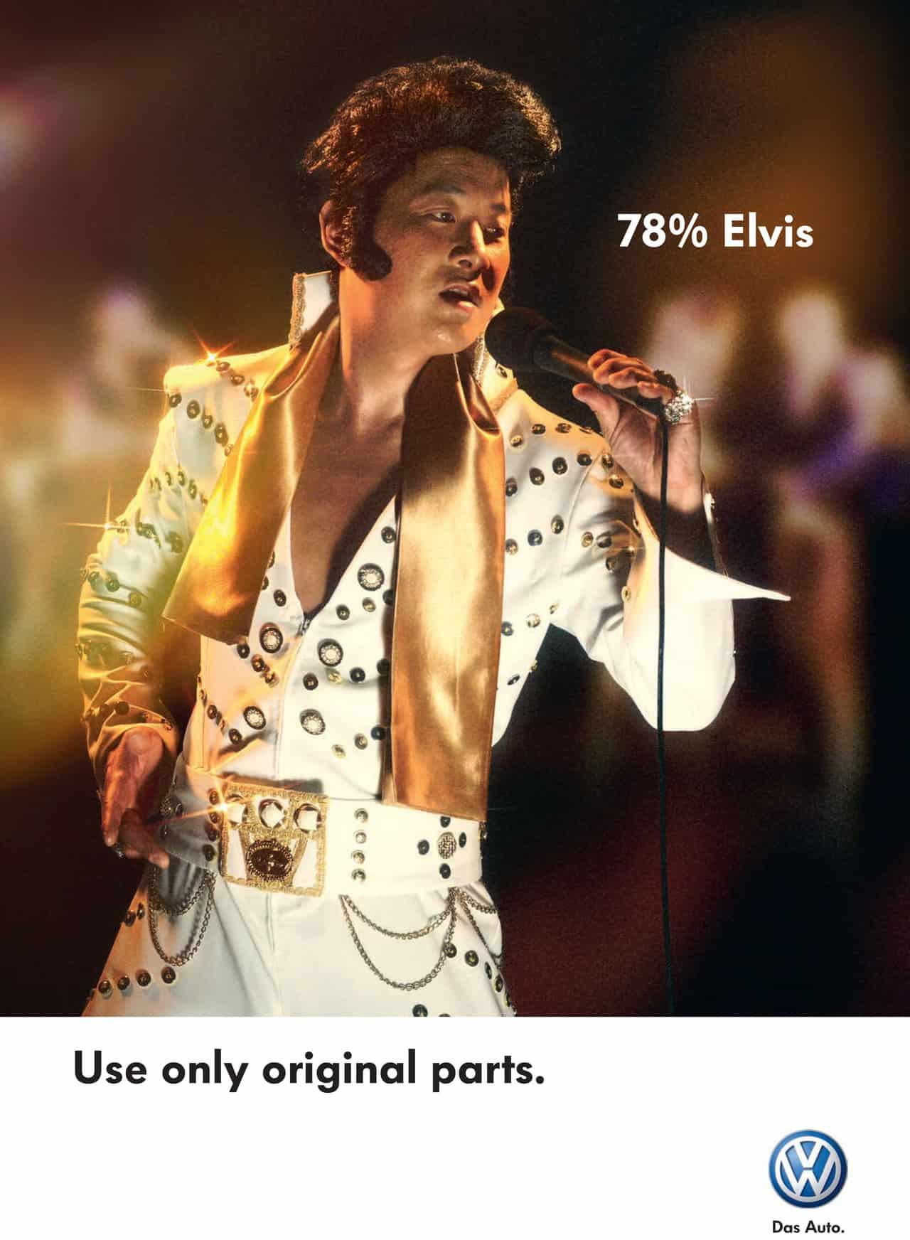 Pub Volkswagen : Elvis