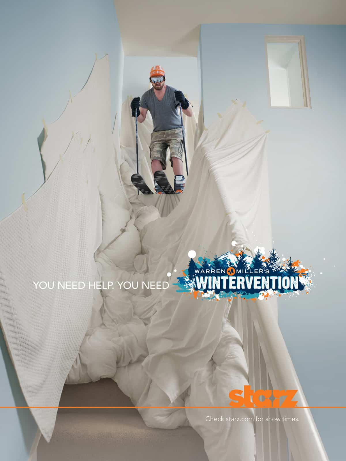 Pub Wintervention : ski