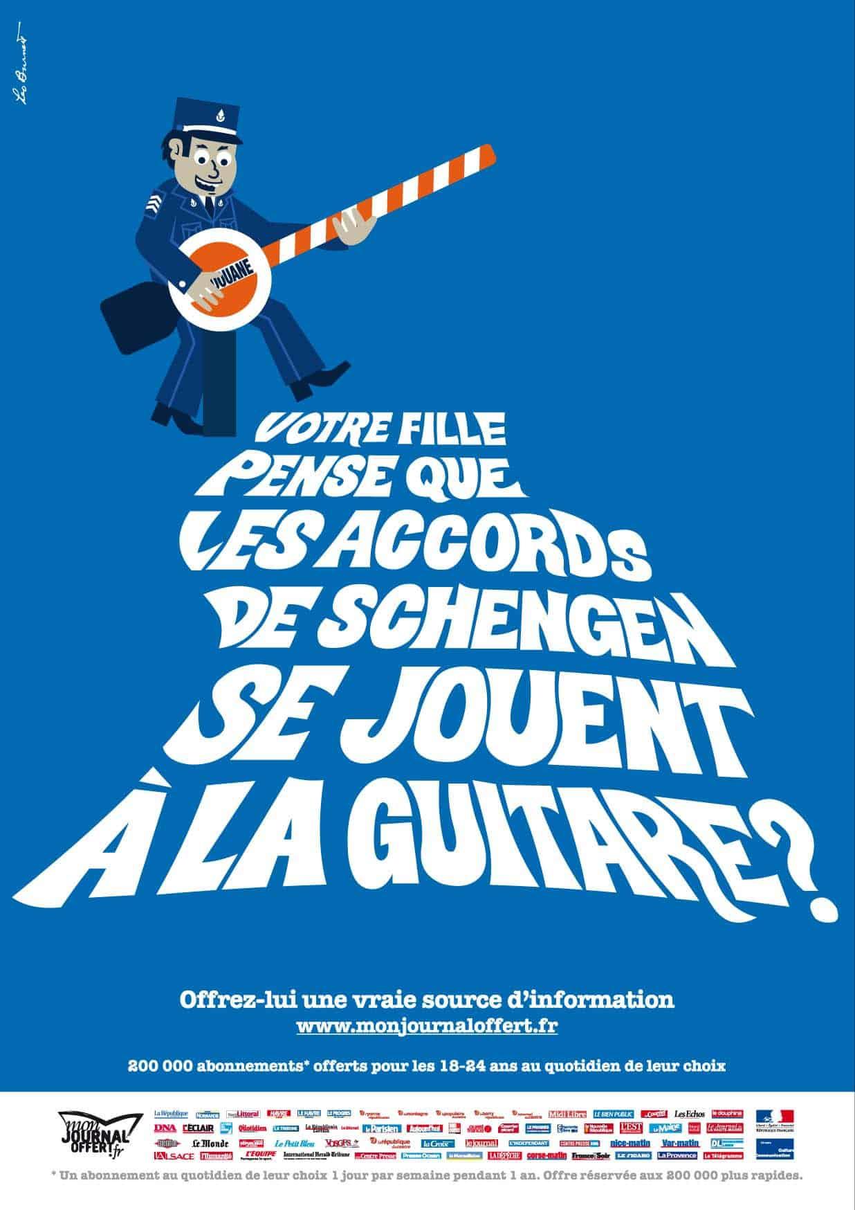 Pub Mon Journal Offert : Schengen