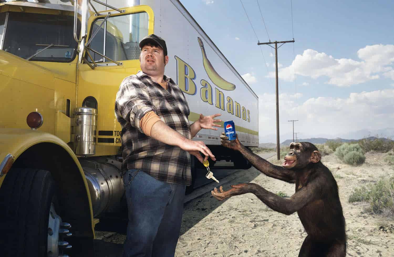 Pub Pepsi : singe