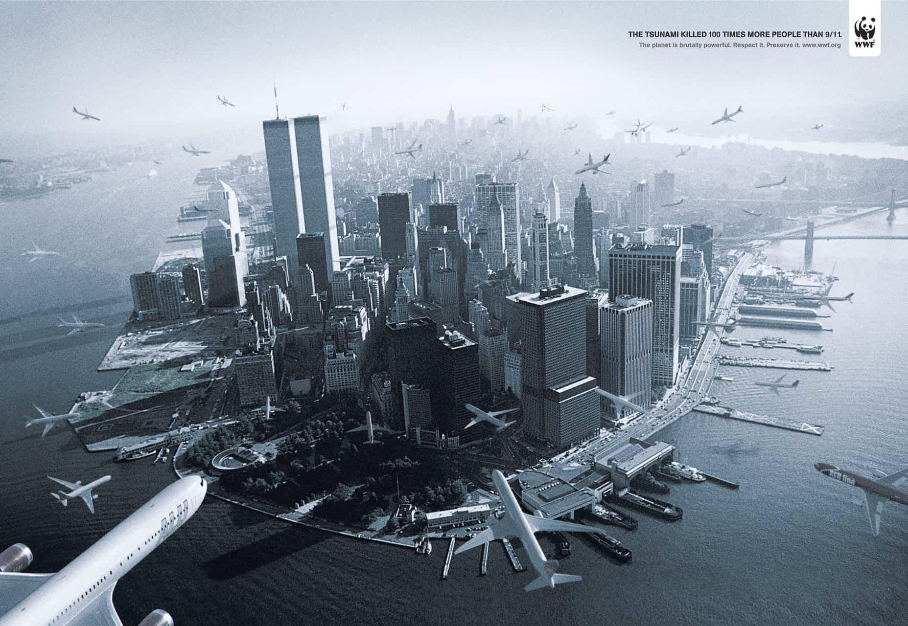 Pub WWF : Tsunami