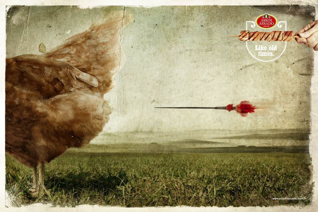 Pub Assim Assado : poulet