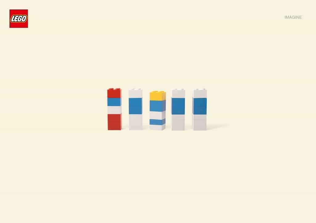 Pub Lego : Schtroumpf