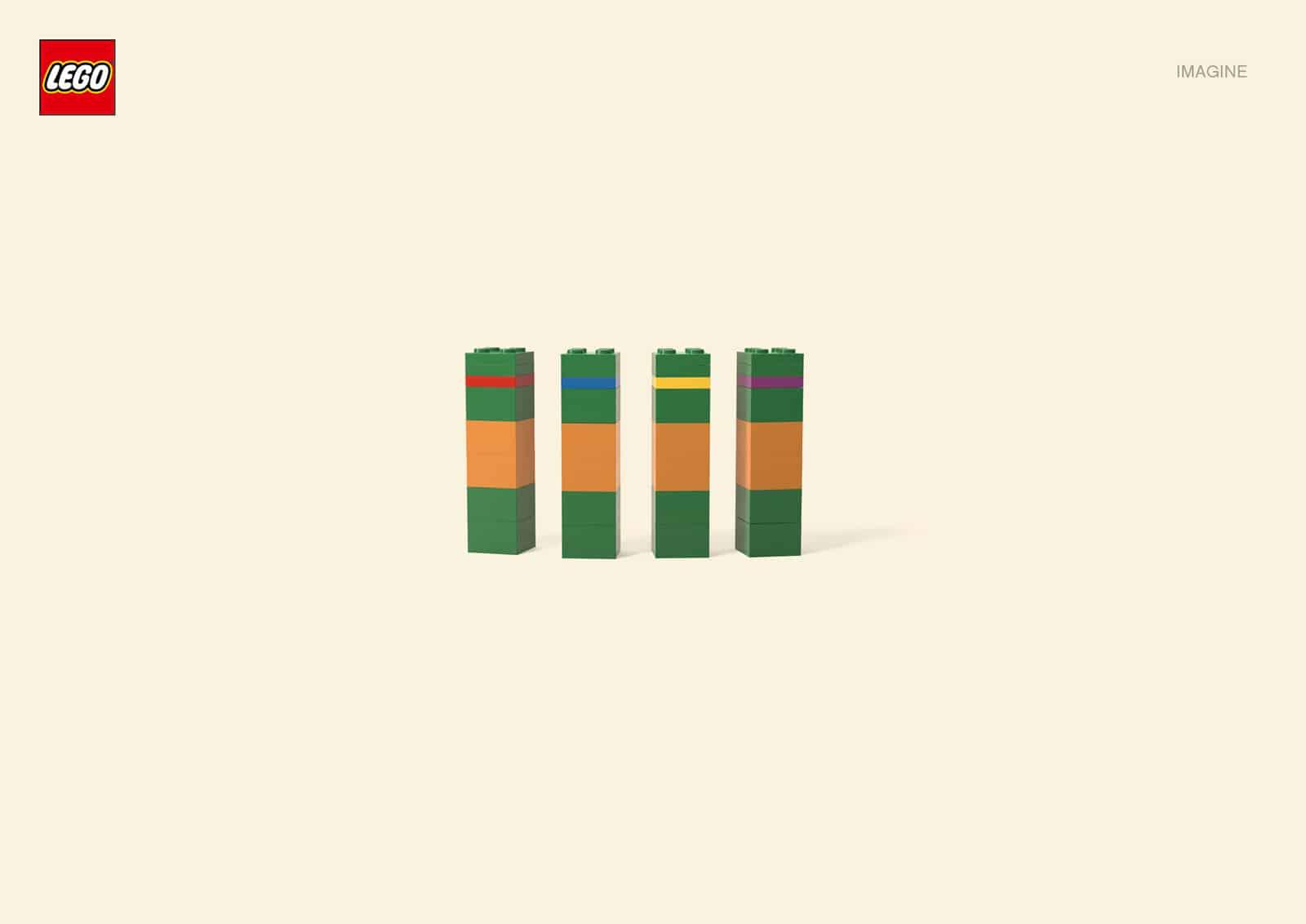 Pub Lego : Tortues Ninjas