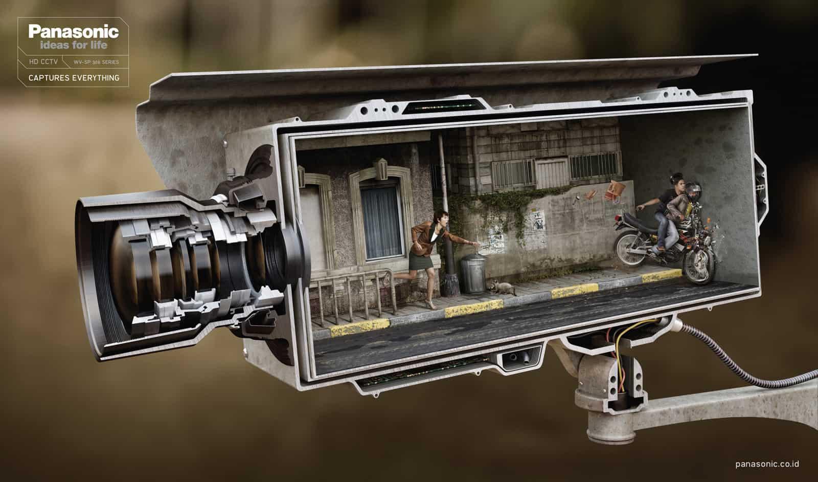 Pub Panasonic HD CCTV : voleurs