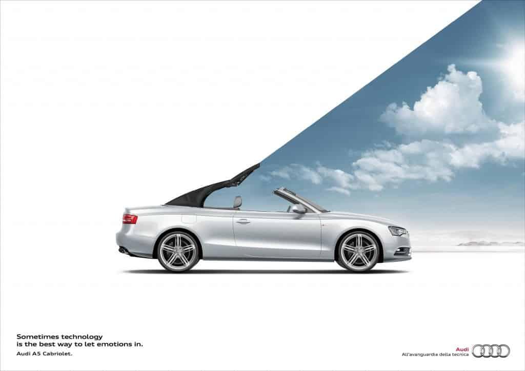 Pub Audi A5 Cabriolet
