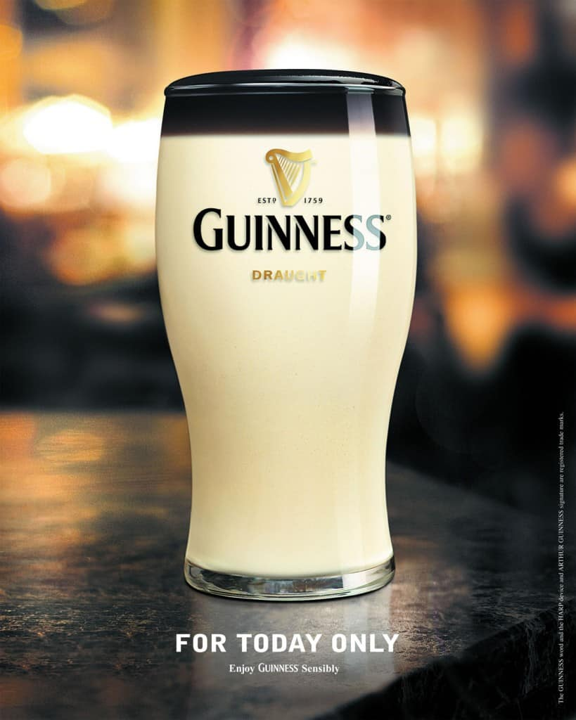 Pub Guinness : Poisson d'avril