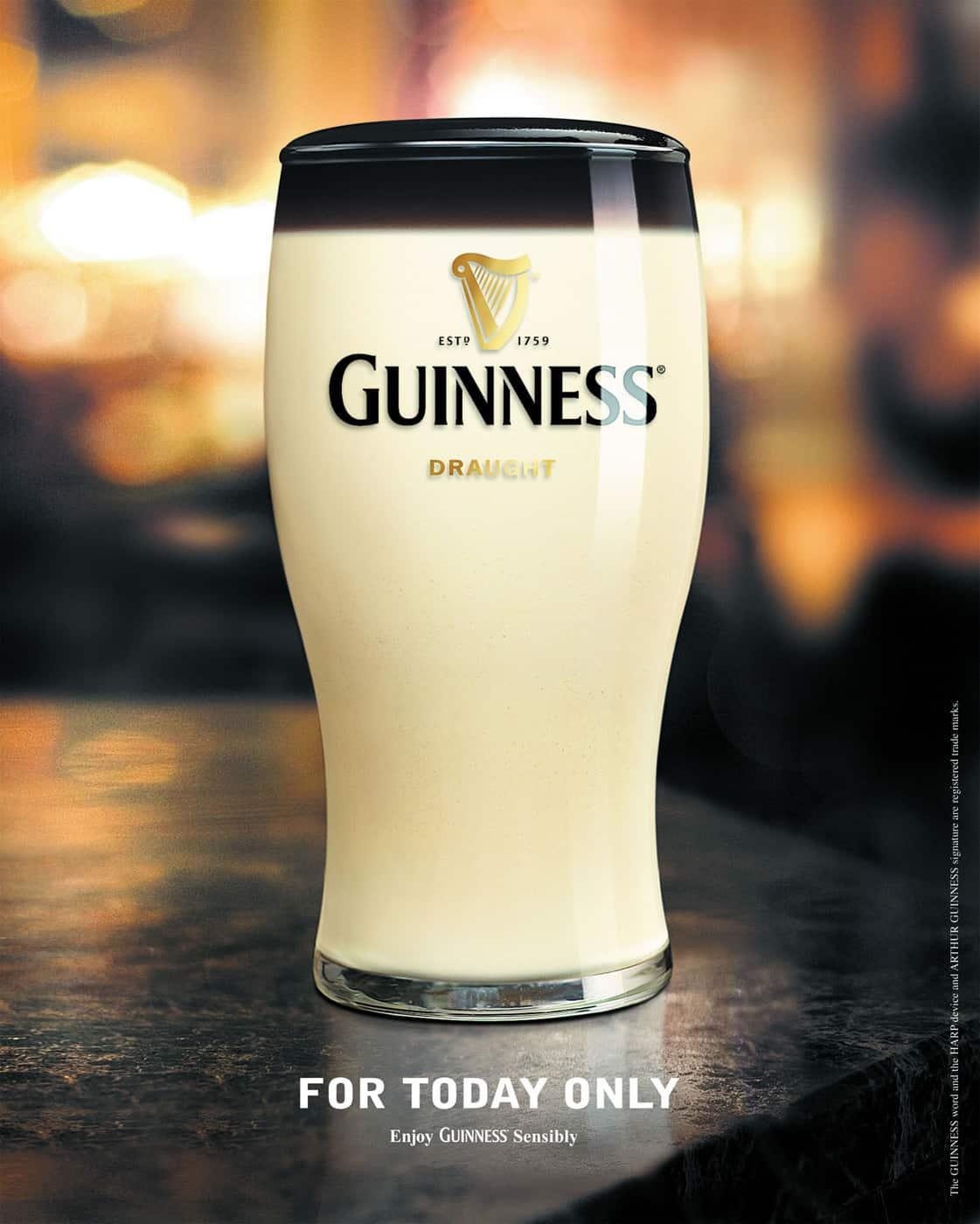 Pub Guinness : Poisson d'avril