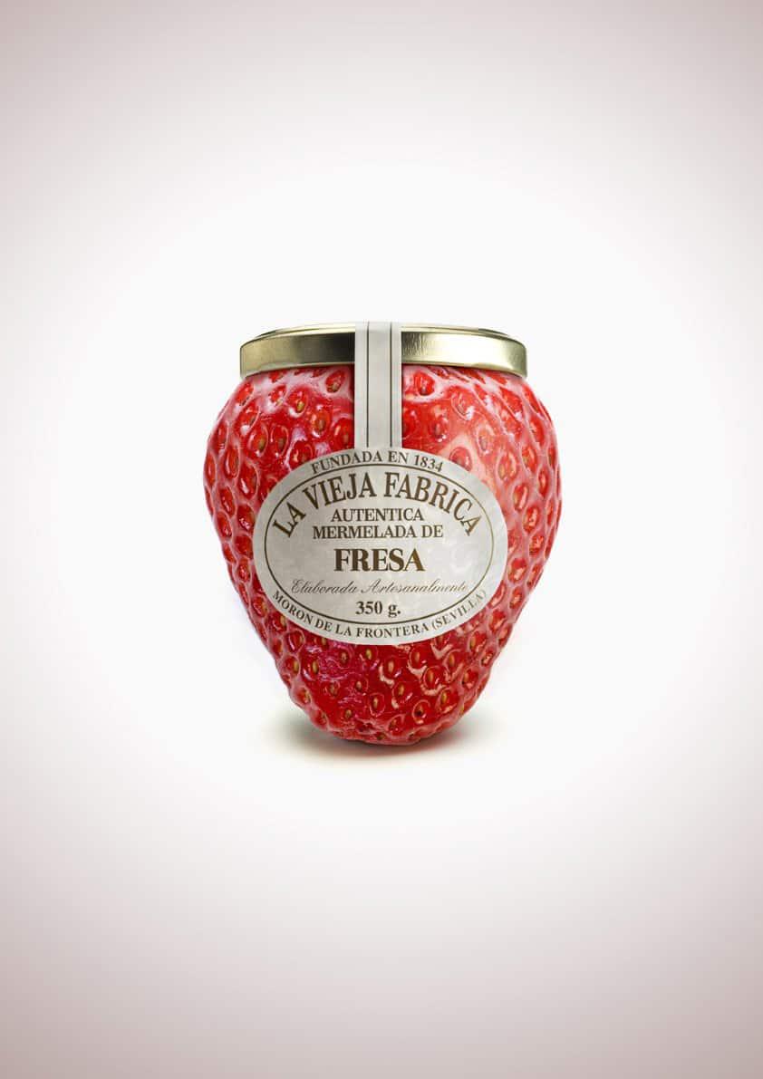 Pub La Vieja Fabrica : fraise