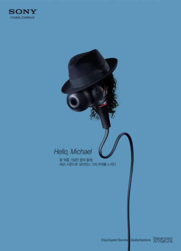 Pub Sony : Michael Jackson