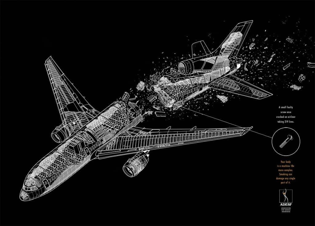 Pub ADESF : avion