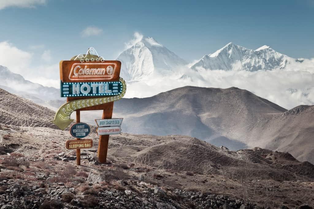 Pub Coleman : montagne