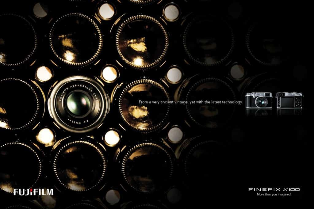 Pub Fujifilm Finepix X100