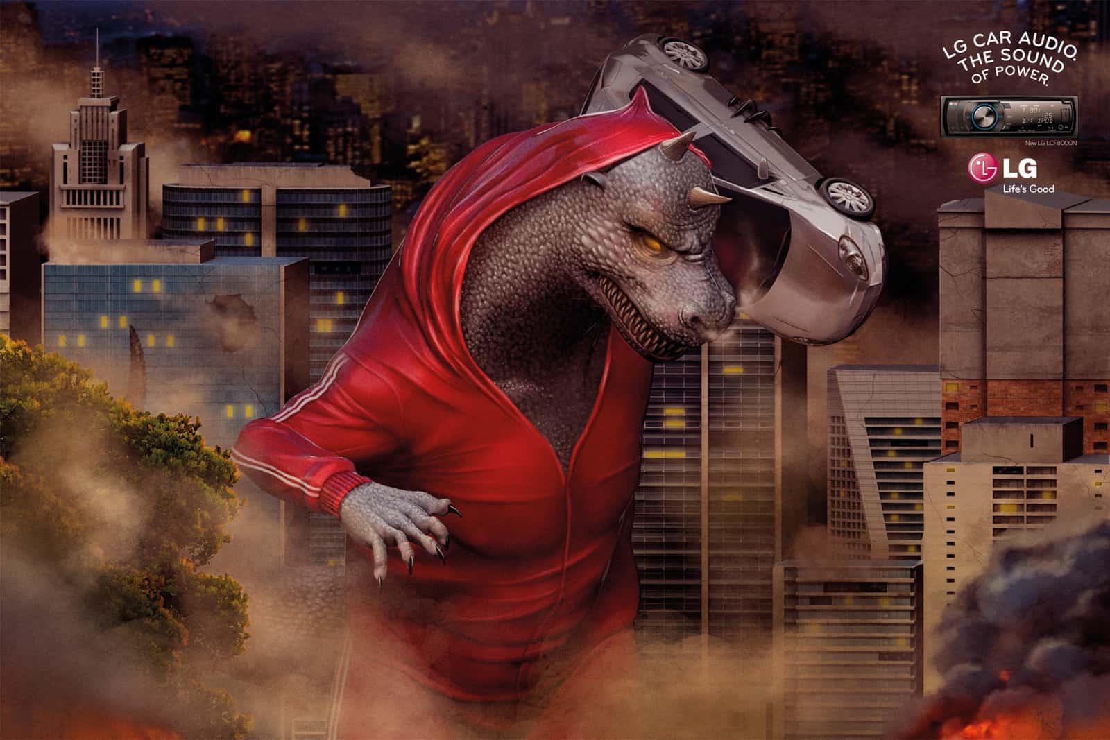 Pub LG Godzilla