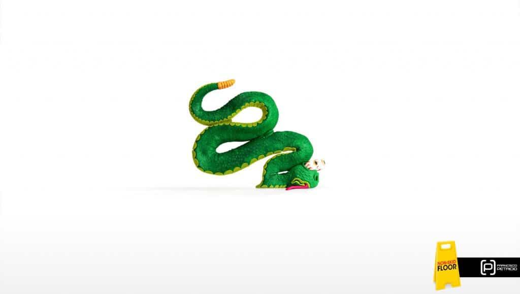 Pub Francisco Petricio : serpent