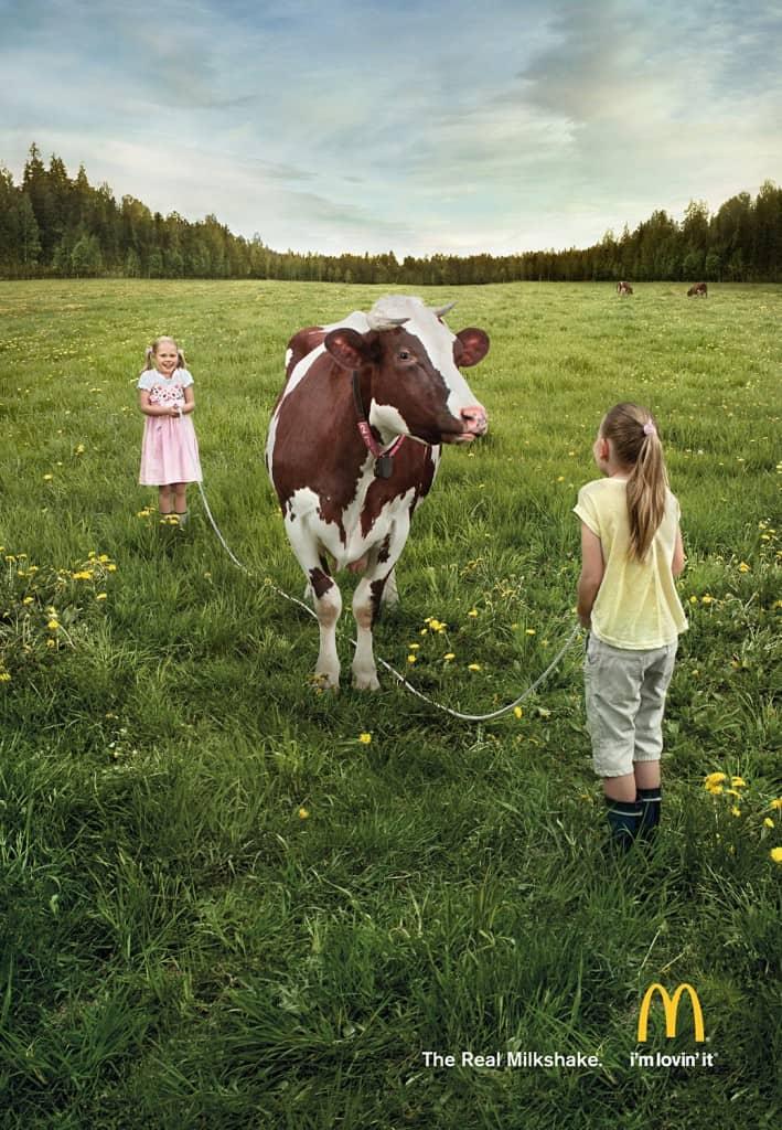 Pub McDonald's : Milk-shake
