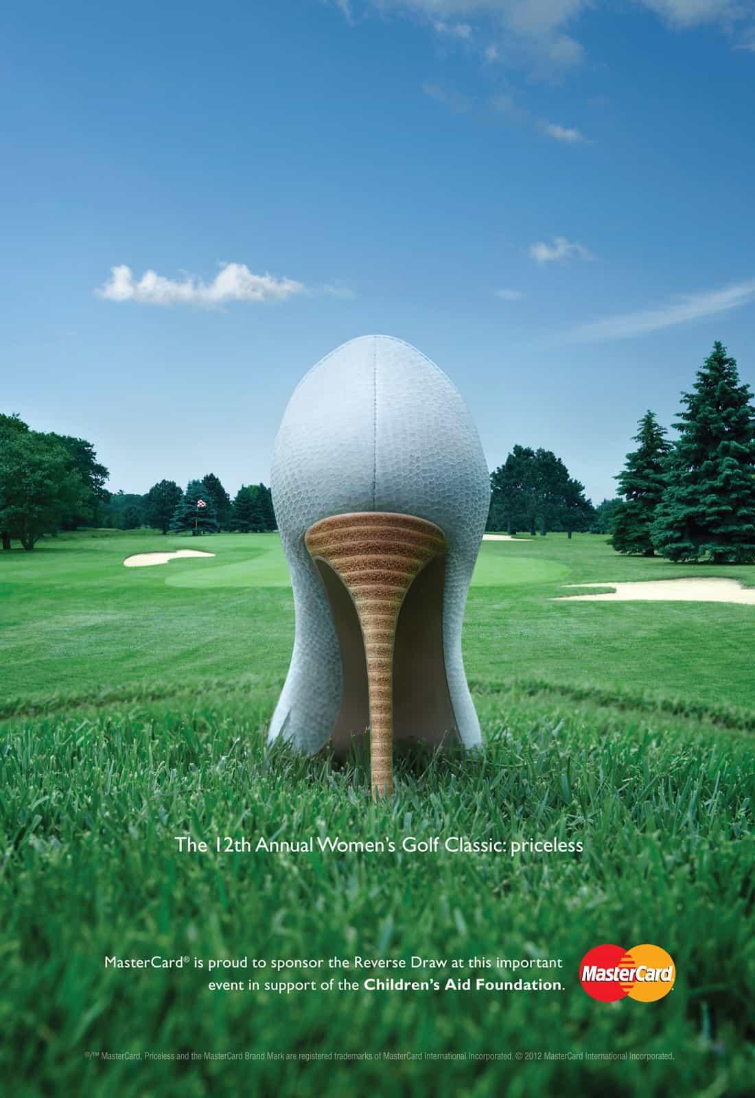 Pub Mastercard : Golf