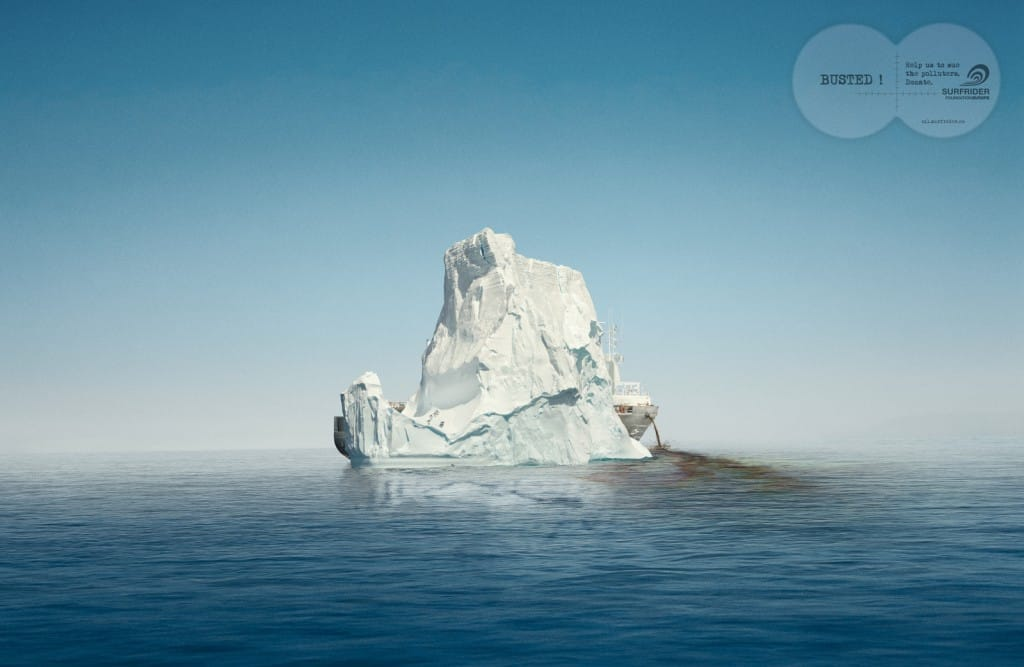 Pub Surfrider Foundation : iceberg