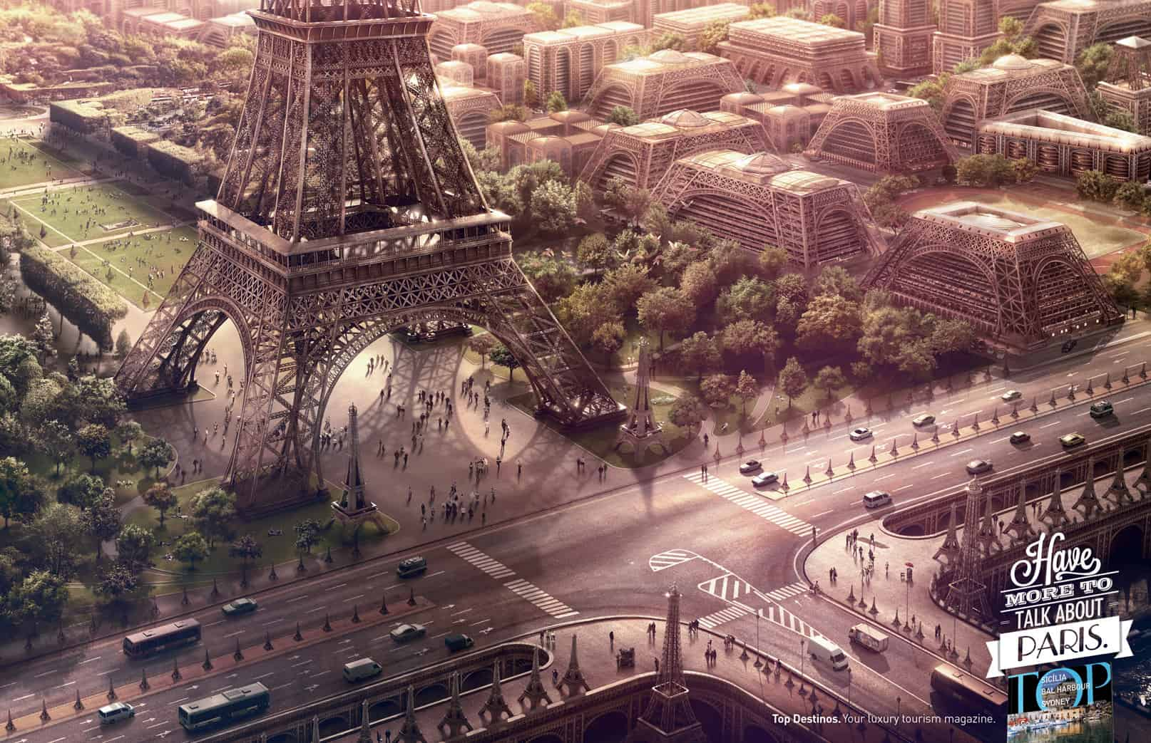 Pub Top Destinos : Paris