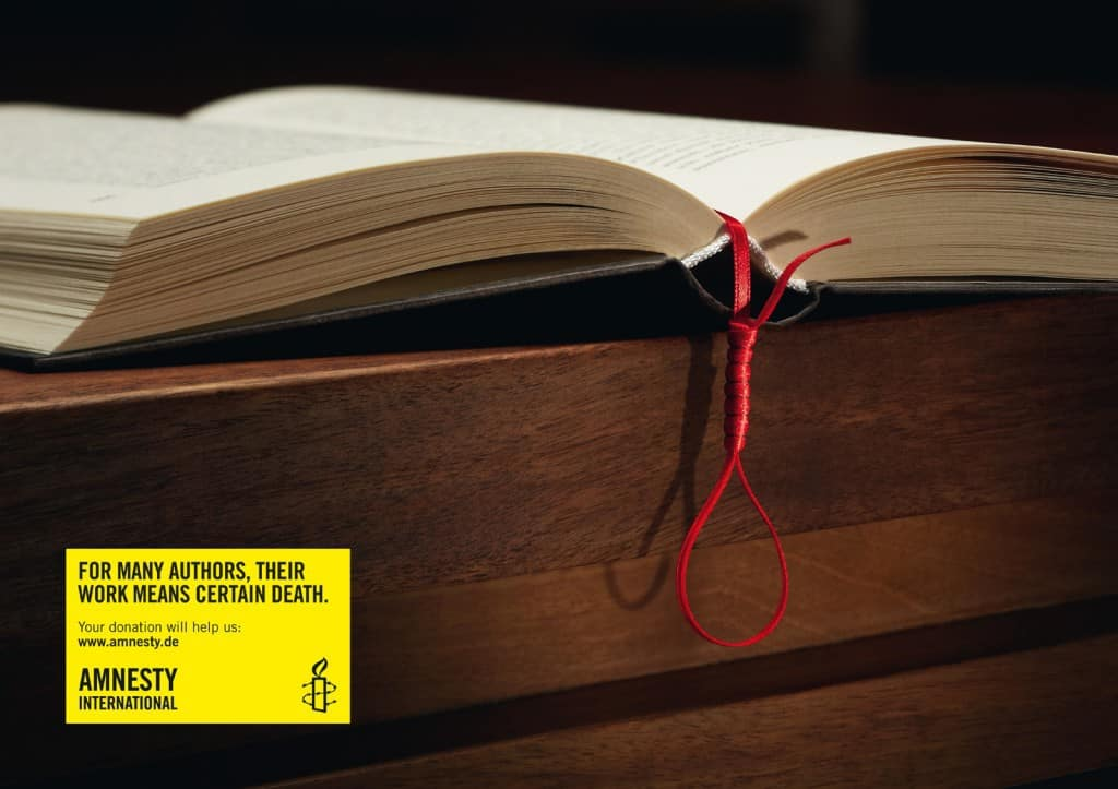 Pub Amnesty International : Pendaison