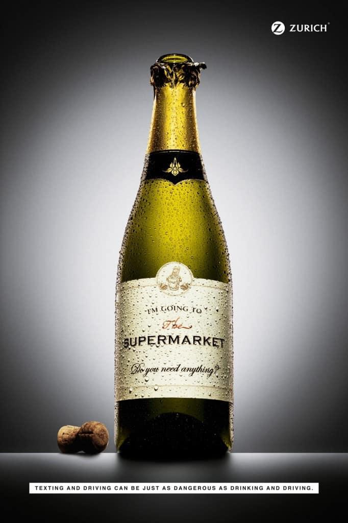 Pub Zurich : champagne