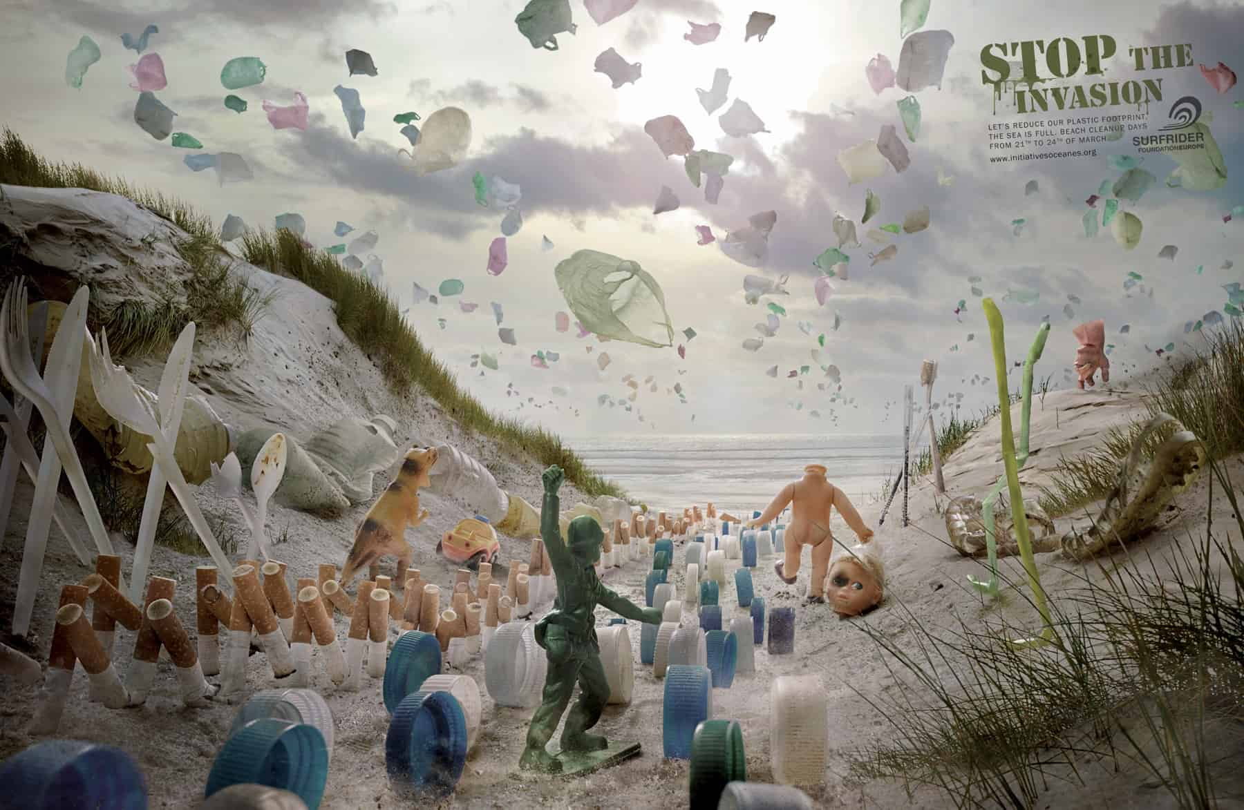 Pub Surfrider Foundation : invasion