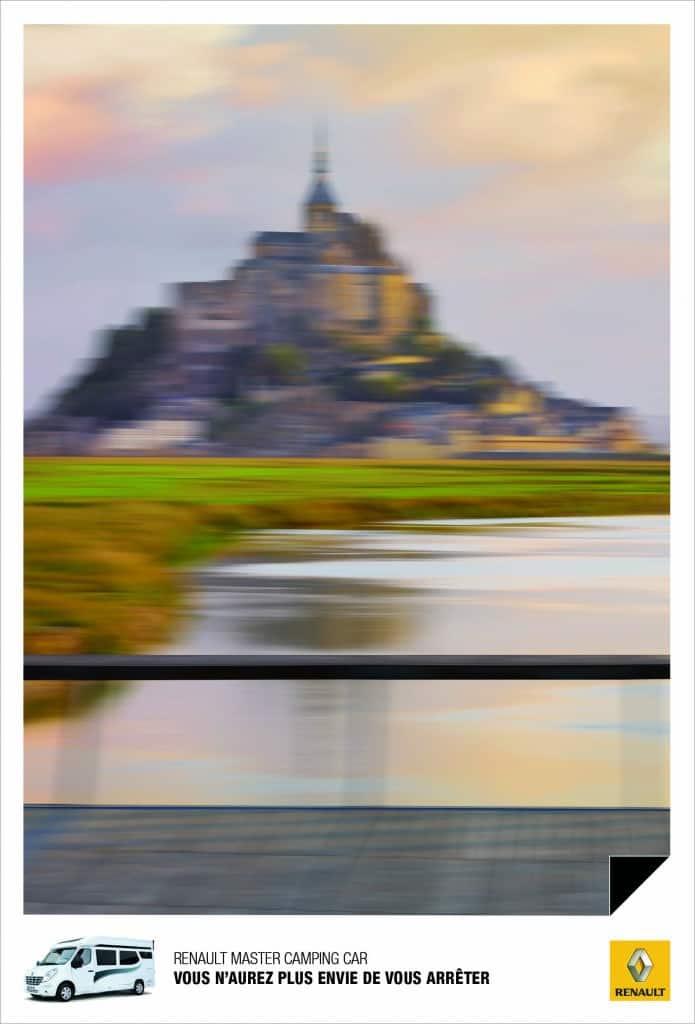 Renault Camping car : Mont Saint Michel