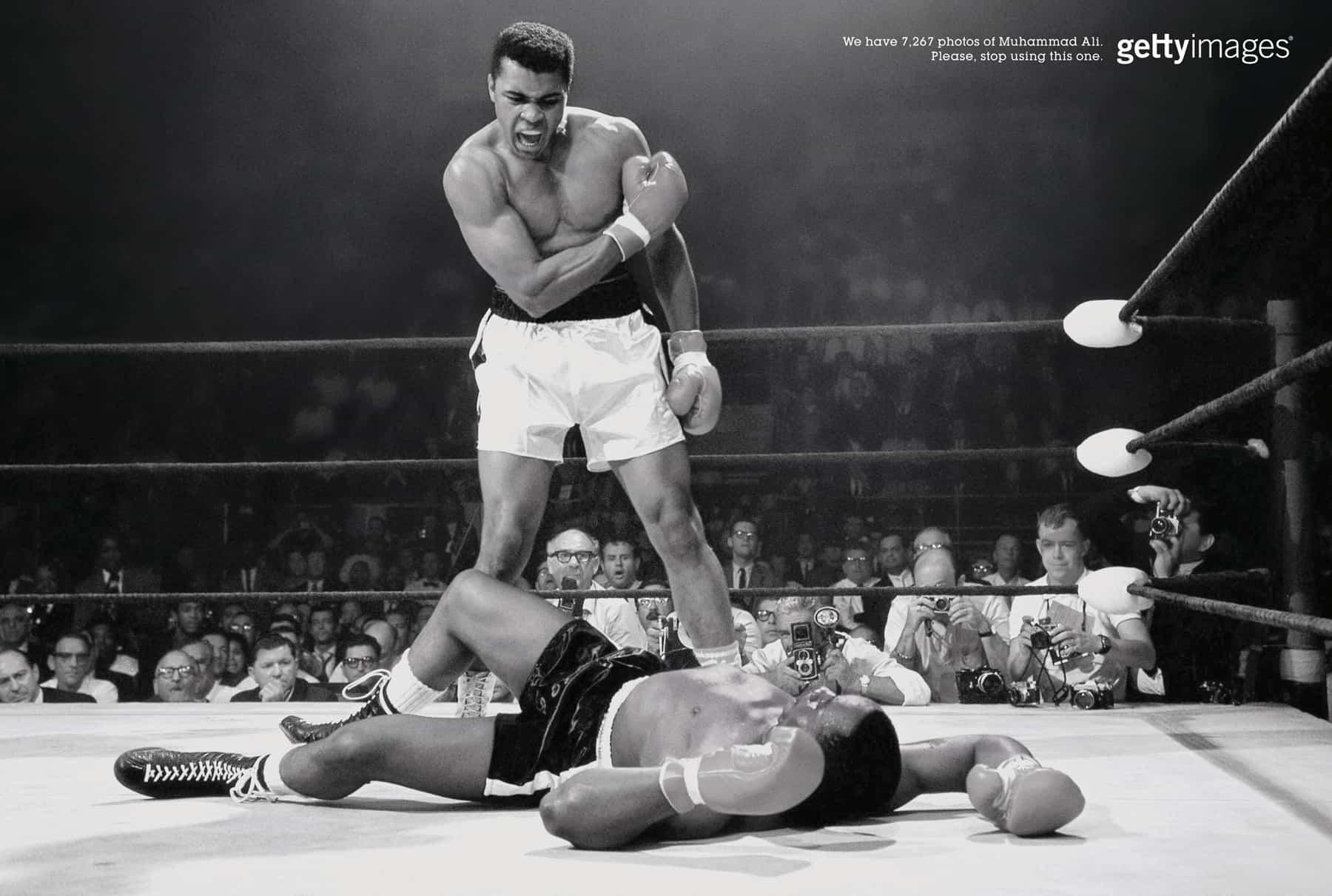 Pub Getty : Muhammad Ali