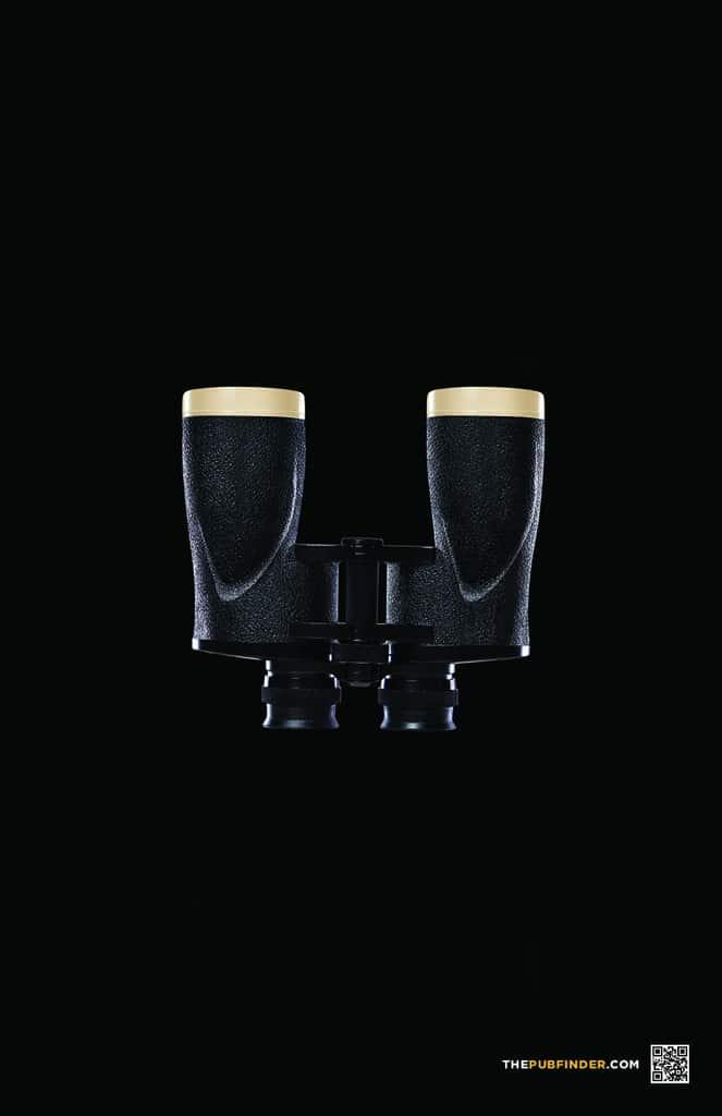 Pub Guinness : jumelles