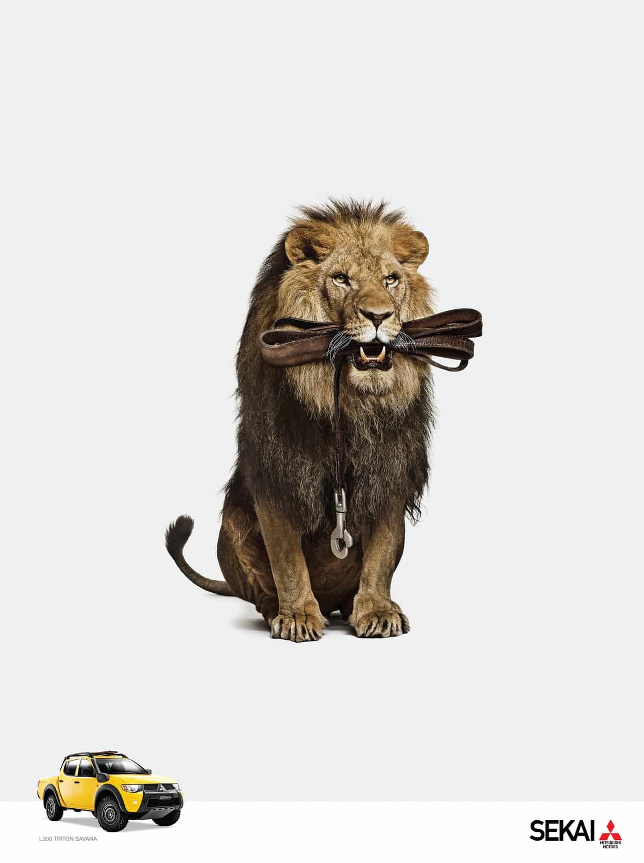Pub Mitsubishi : Lion
