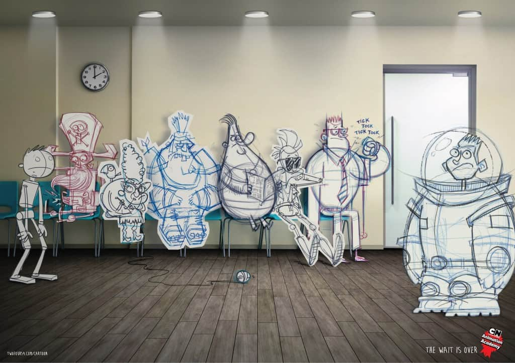 Pub Cartoon Network : dessins