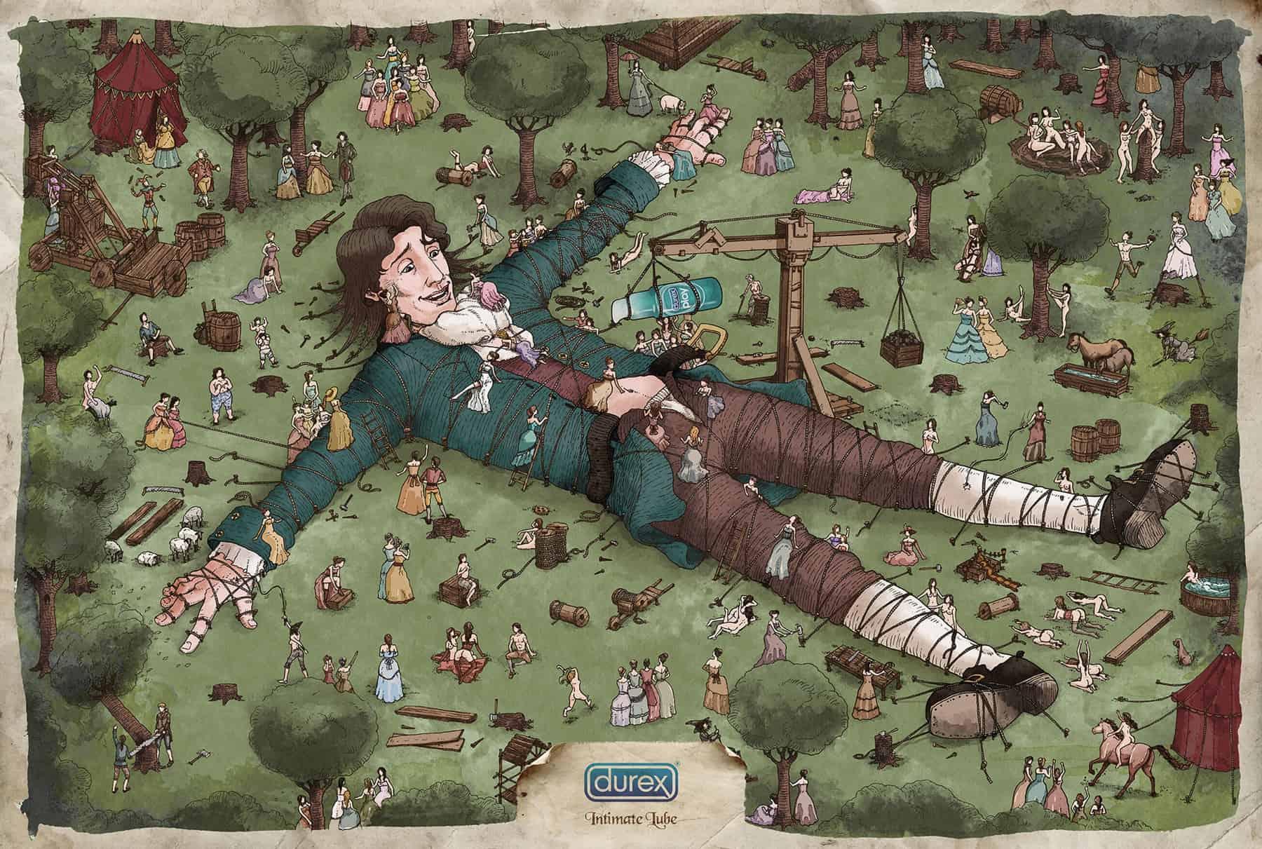 Pub Durex : Gulliver
